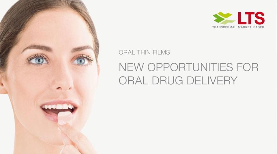 LTS Webcast - Oral Thin Films – neue Möglichkeiten für die orale Verabreichung von Medikamenten