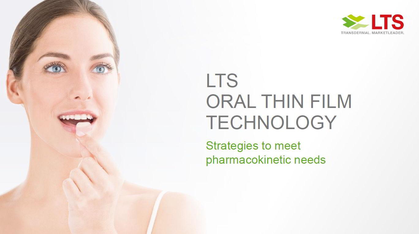 LTS Webcast: Oral Thin Films – Maßgeschneiderte Therapien
