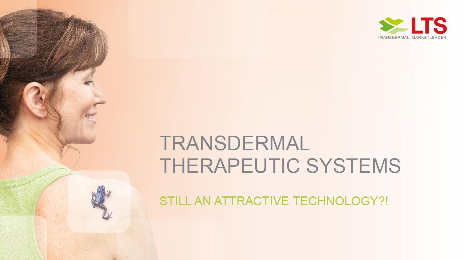 LTS Webcast: Transdermal Therapeutische Systeme – immer noch eine attraktive Technologie?