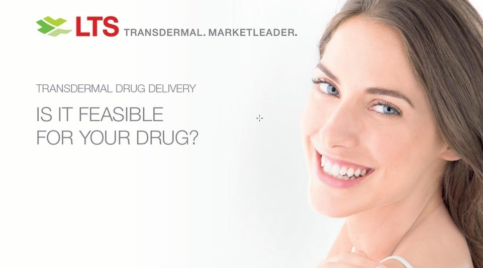 LTS Webcast - Transdermal Drug Delivery – ist es machbar für Ihr Arzneimittel?