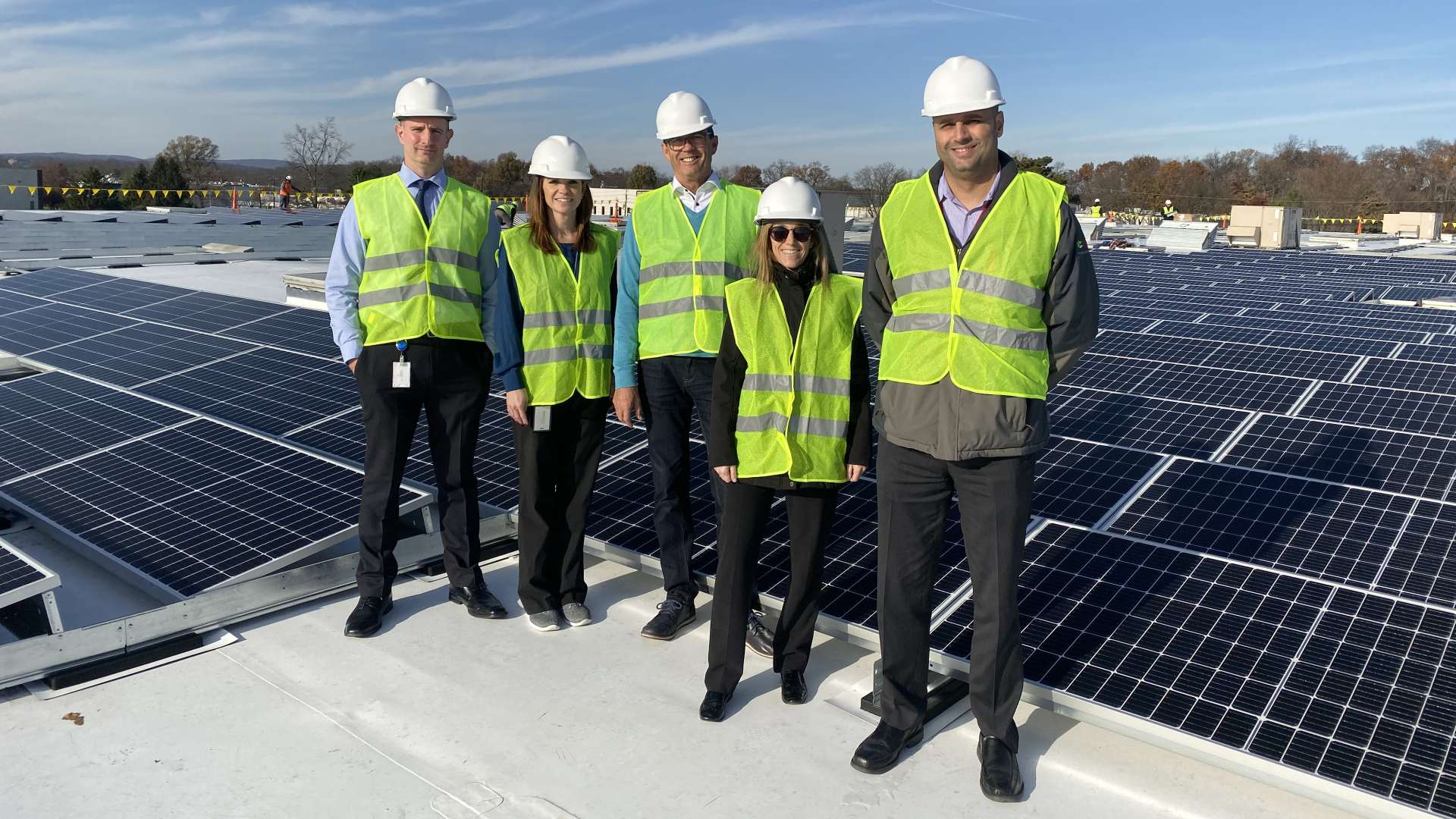 Completion of solar panel installation at LTS Corp. | LTS