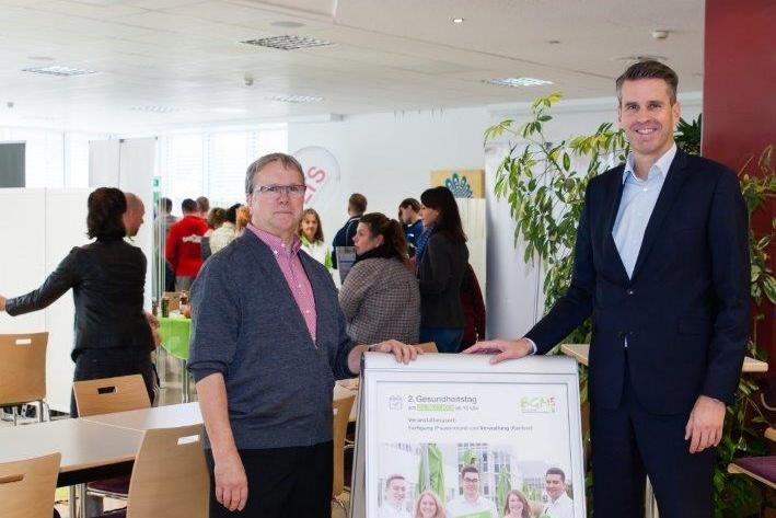 Zweiter Gesundheitstag: LTS gibt Mitarbeitern wichtige Tipps zu Gesundheitsthemen